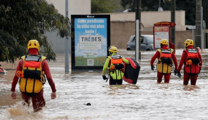 Continúa alerta en sur de Francia por tormenta e inundaciones (+ videos)