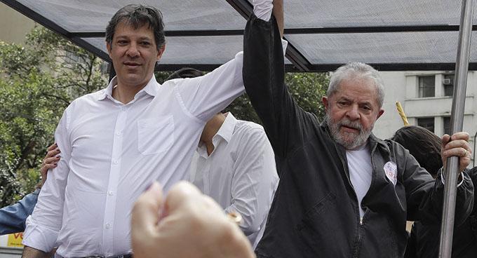 Aprendí con Lula que es posible ofrecer un destino a todos, Haddad