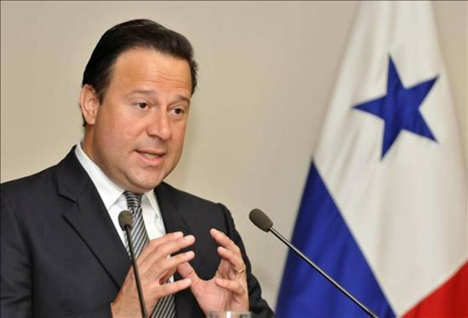Viajará hoy a Cuba presidente panameño Juan Carlos Varela