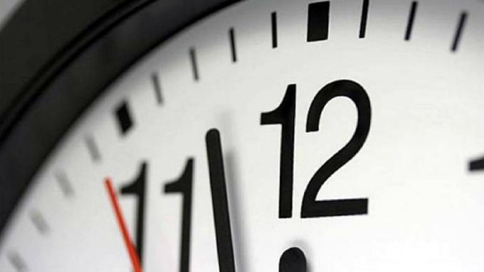 Restablecerán el horario normal el próximo cuatro de noviembre