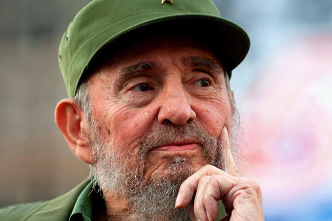 Rinden tributo al líder histórico Fidel Castro en tuitazo mundial