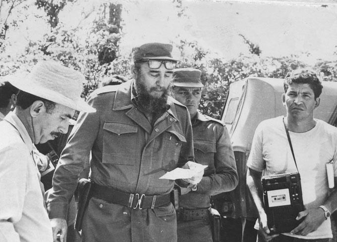 Recuerdos de Fidel en Granma (+ fotos)