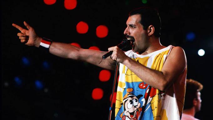 Cinta de Freddie Mercury acapara primer lugar en taquilla de EE.UU.