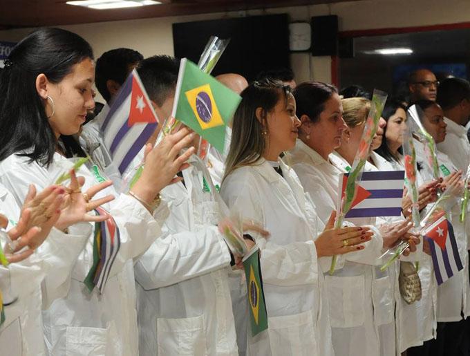Los médicos cubanos están al lado del deber, afirma ministro (+ video)