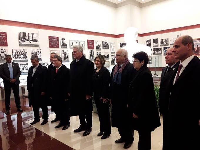 Presidente cubano concluyó fructífera visita a China (+ fotos y videos)