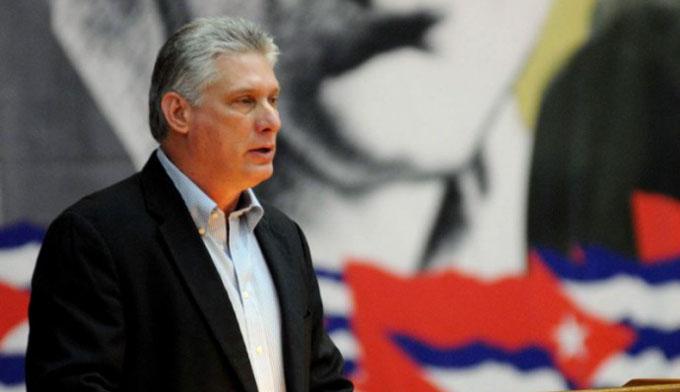 Denuncia Díaz-Canel maniobra de EE.UU. para afectar relaciones con Cuba