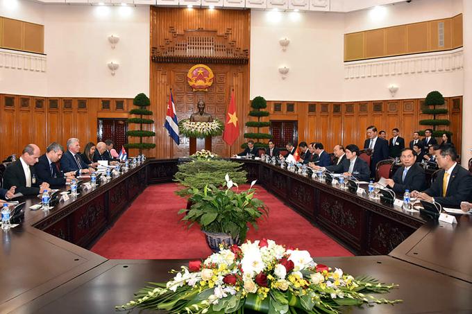 Cuba y Vietnam por fortalecer sus relaciones de cooperación (+ fotos y videos)