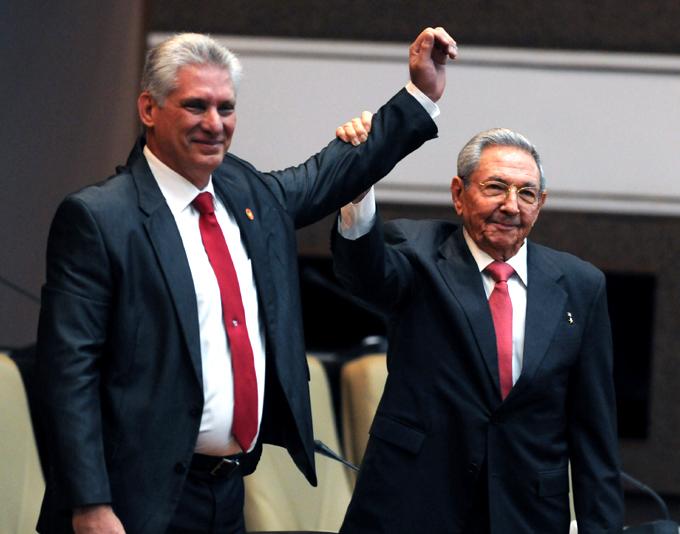 Recibió el General de Ejército Raúl Castro a Presidente Díaz-Canel