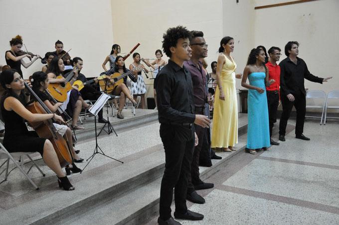 Concierto de música antigua despide cumpleaños de la Villa (+ fotos, audio y video)