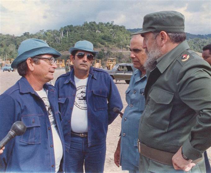Recuerdos de la presencia de Fidel en Granma (II)
