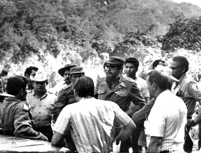 Fidel nuevamente en la Sierra Maestra (+ fotos y videos)