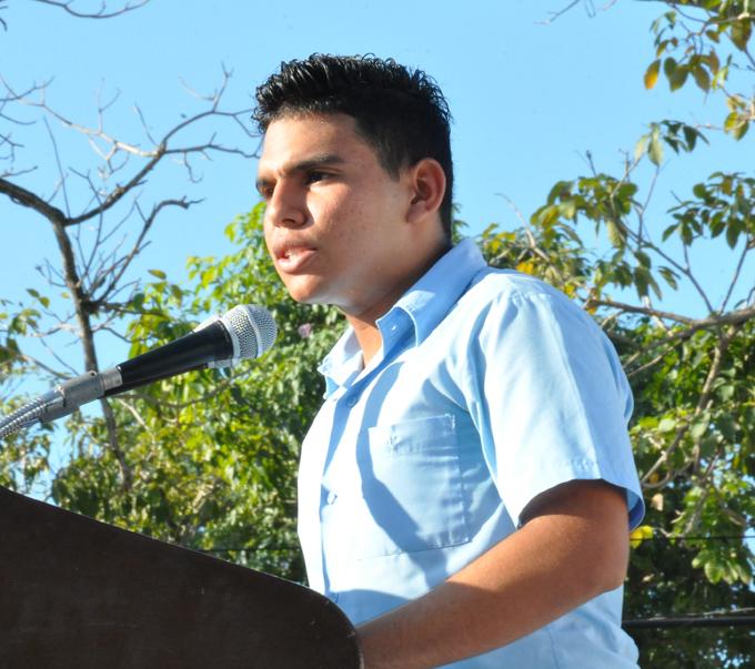 Realizan en preuniversitario de Bayamo acto nacional por el Día del Estudiante (+ fotos y video)