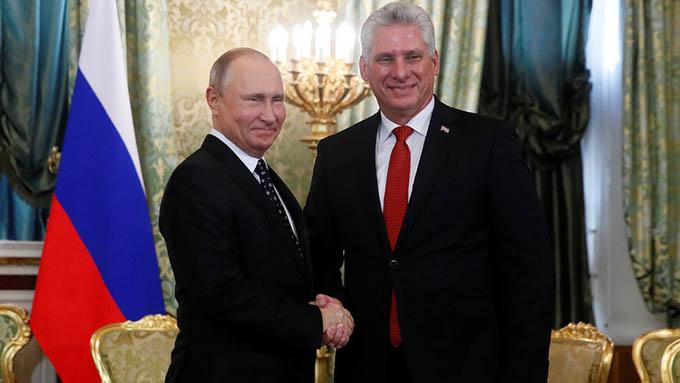 Firman Cuba y Rusia una declaración conjunta sobre asuntos internacionales (+ video)