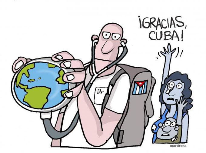 La manipulación política no pudo con la dignidad de los médicos cubanos