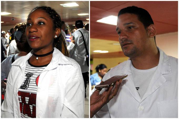 Médicos cubanos apoyan decisión de no continuar en Brasil