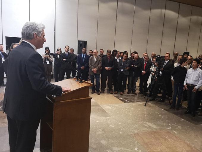 Presidente cubano en México para ampliar y reforzar relaciones entre ambos países