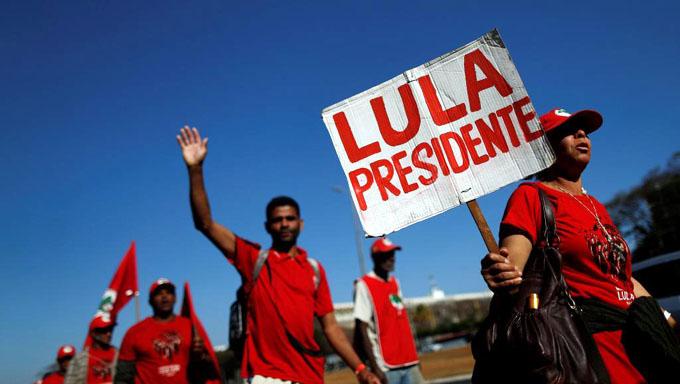 Pueblo brasileño a las calles para reclamar libertad de Lula