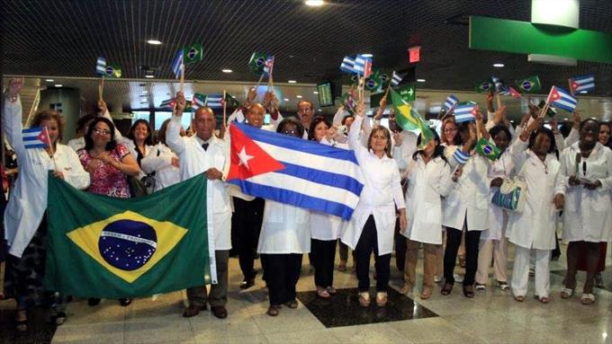 En Brasil no solo los pobres quieren a médicos cubanos, dice colaboradora (+ videos)