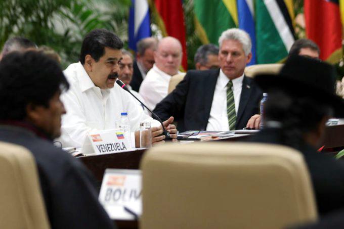 Destaca Maduro la capacidad del ALBA para llegar a los humildes