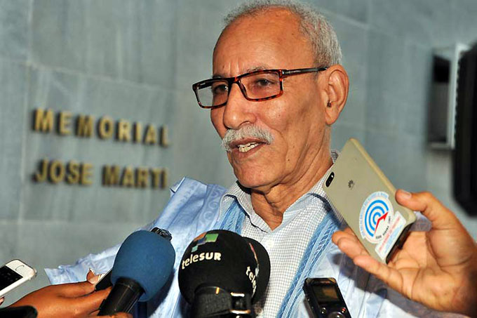 Recibió Díaz-Canel al Presidente de la República Árabe Saharaui Democrática (+ fotos)