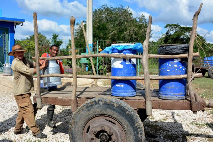 Brindis con agua dulce en El Salvial (+ fotos y audio)