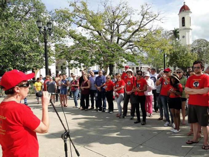 Brigada solidaria Cruz del Sur festejará en Cuba el 1 de Enero
