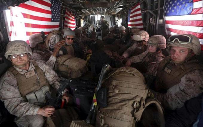 EE.UU. aumentó sus gastos militares y tropas en ultramar en 2018
