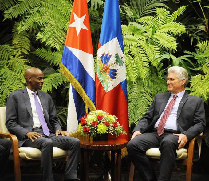 Destaca Díaz-Canel 20 años de ayuda médica de Cuba a Haití