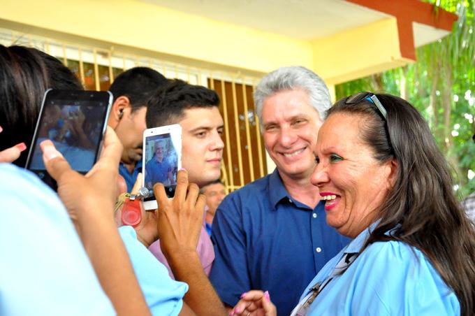 Díaz-Canel: compartir un sueño con el pueblo es un desafío