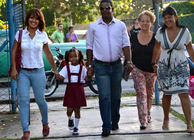 La familia en Cuba: sostén y seguridad