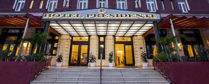 Presidente, emblemático hotel cubano cumple 90 años