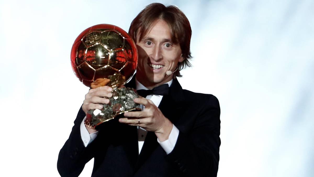 Modric, ganador del Balón de Oro