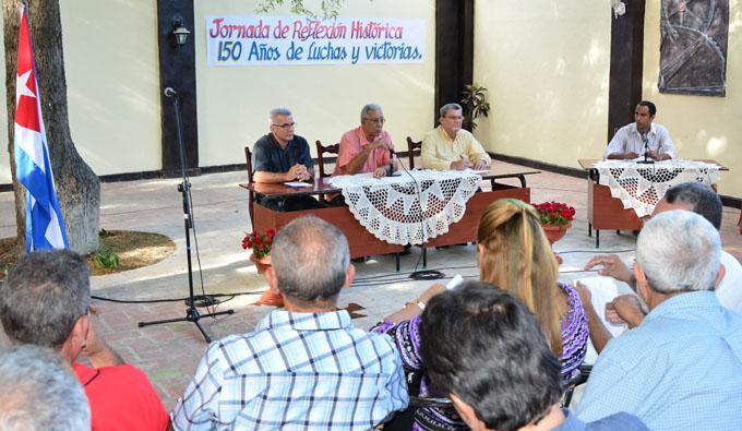 Realizan en Bayamo jornada de reflexión histórica