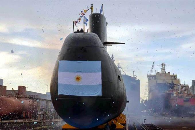 Llegarán a Argentina las 67 mil fotos capturadas del ARA San Juan