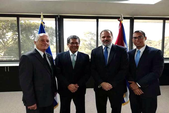 Cuba y El Salvador inician VII Reunión de Consultas Políticas