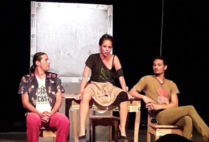 Reverencia Teatro del Viento al arte de las tablas en Bayamo