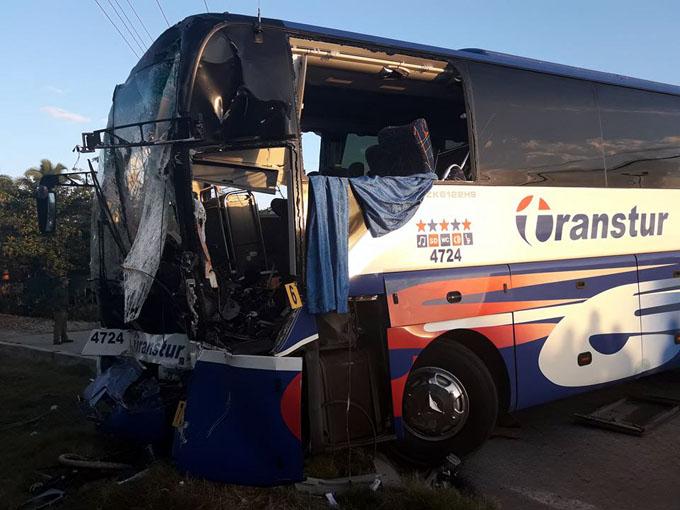 Deja varios lesionados accidente de tránsito en Bayamo (+ fotos)