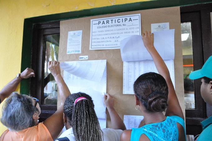 Desde hoy divulgan listas de electores para referendo constitucional