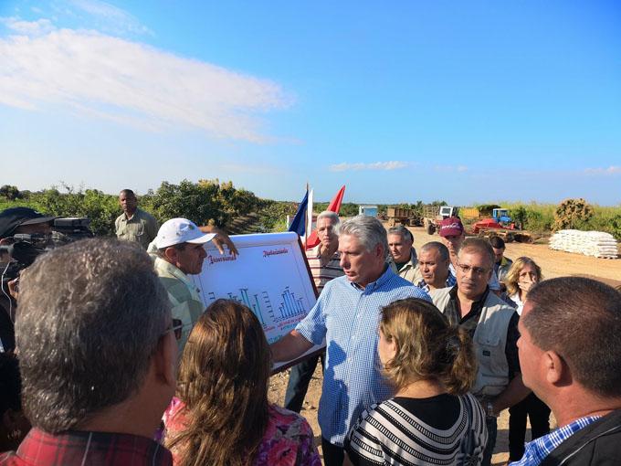 Presidente de Cuba inicia visita de gobierno a provincia central (+ fotos)