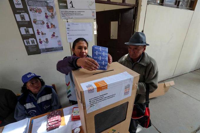 Presidente boliviano destaca importancia de elecciones primarias