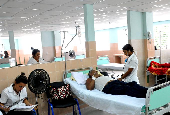Prestan servicios dos nuevas salas en hospital Carlos Manuel de Céspedes