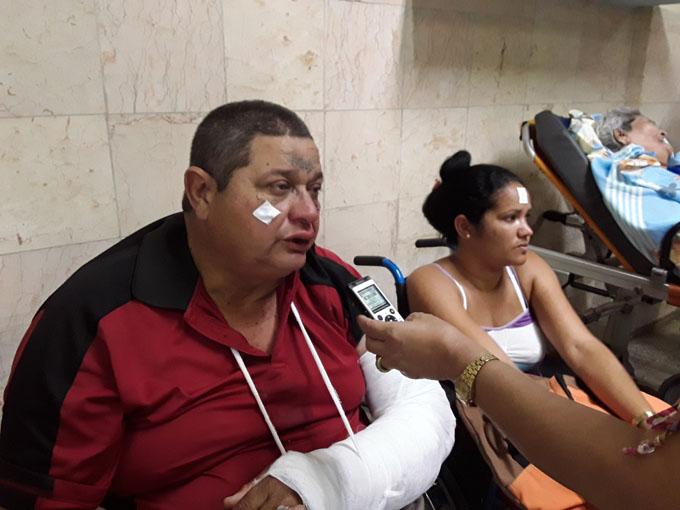 Se recuperan lesionados de accidente de tránsito ocurrido en Bayamo (+ fotos y audio)