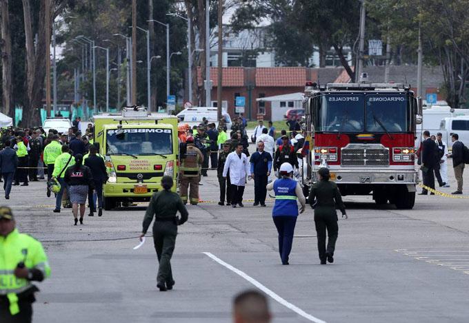 ONU condena atentado contra academia de policía en Colombia