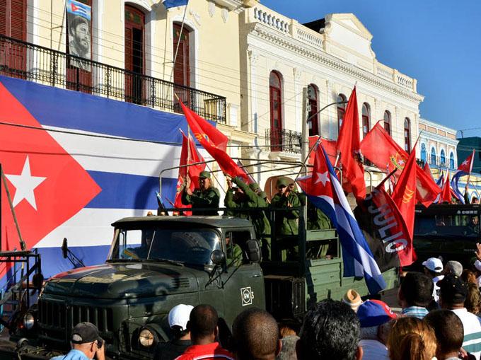 Rememoran entrada de la Caravana de la Libertad a Bayamo (+ fotos)