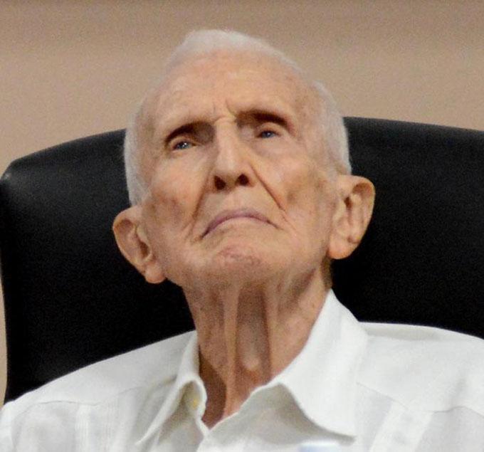 Falleció el Héroe de la República de Cuba José Ramón Fernández