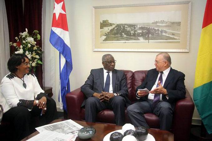 Canciller de Guinea se reunirá con autoridades cubanas