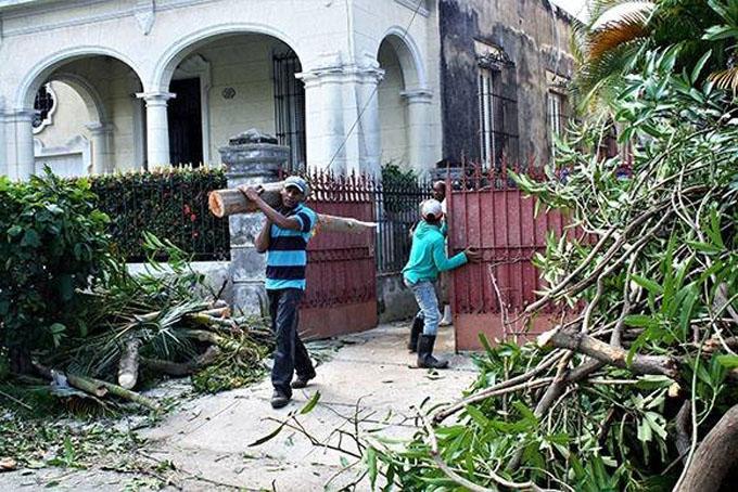 Países de Centroamérica solidarizados con Cuba tras paso de tornado