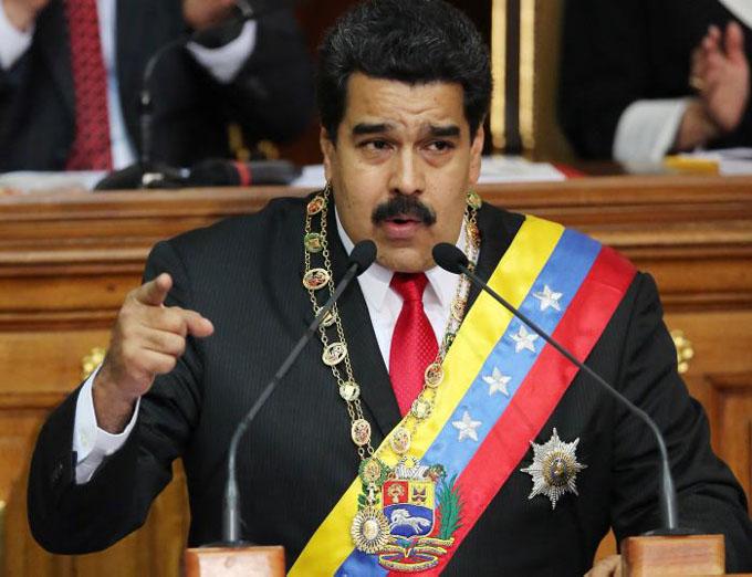 Maduro llama al pueblo estadounidense a evitar un Vietnam en América (+ video)