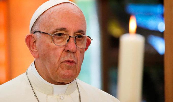 Alerta el papa Francisco sobre la degradación espiritual