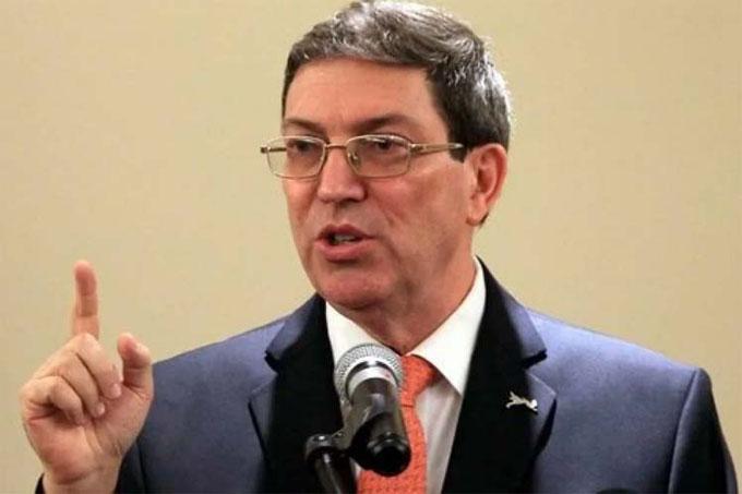 Bruno Rodríguez  denuncia  incremento de agresividad  del bloqueo estadounidense a Cuba (+Tuit)